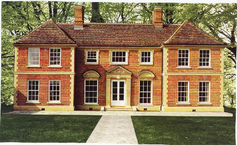 Английский фасад дома фото